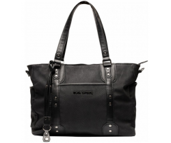 Přebalovací taška Little Company Paris Snake Black Hadí vzor