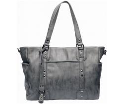 Přebalovací taška Little Company Paris Studs Antracite