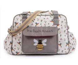 Přebalovací taška Pink Lining The Bees Knees
