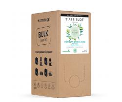 Přírodní mýdlo na ruce Attitude Super leaves s detoxikačním účinkem - olivové listy - náhradní kanystr 2 l