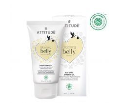 Přírodní olej Attitude Blooming Belly pro těhotné a po porodu - argan a mandle 150 ml