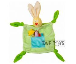 Přítulník Taf Toys Zajíček zelený