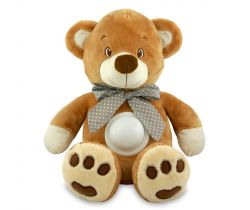 Projektor s melodií BabyMix Puff Bear Brown