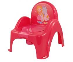 Protiskluzový nočník/stoleček s melodií Tega Baby Little Princess