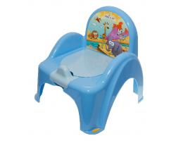 Protiskluzový nočník/stoleček s melodií Tega Baby Safari