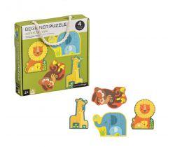 První puzzle Petitcollage Mláďata safari