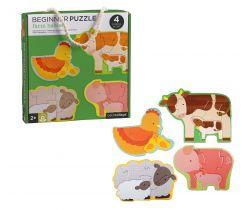 První puzzle Petitcollage Zvířátka z farmy