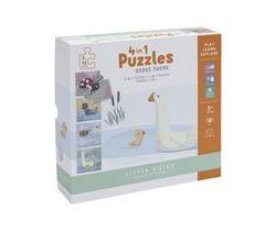 Puzzle Husa 4v1 Little Dutch 4ks