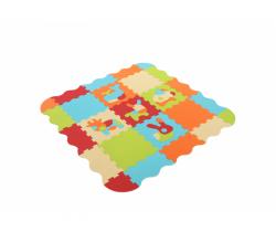 Puzzle pěnové 120x120 cm Ludi Zvířátka