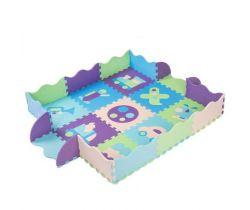 Pěnové puzzle 30x30 cm 9 ks Springos