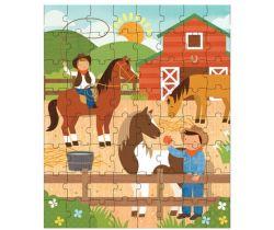 Puzzle v tubě Petitcollage Na ranči