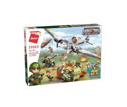 Bitva země-vzduch Qman Combat Zone