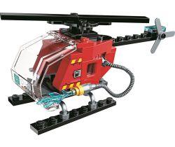 Záchranný vrtulník Qman Water Cannon Fire Truck