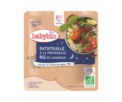 Ratatouille po provensálsku s rýží 190g Babybio