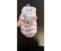 Rukavičky s obrázkem Yo Pink Bunny
