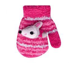 Rukavičky s obrázkem Yo Pink Fox