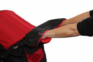 Rukávník ke kočárku fleece/kožich Emitex