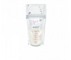 Sáčky mateřského mléka 180 ml 25 ks Avent