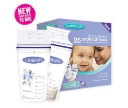 Sáčky na skladování mateřského mléka 25 ks Lansinoh