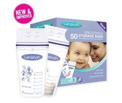 Sáčky na skladování mateřského mléka 50 ks Lansinoh