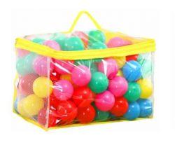 Sada barevných míčků do stanu 100ks EcoToys