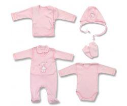 Sada do porodnice Lafel Pink Girl