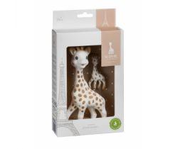 Sada hračka žirafa s přívěškem na klíče Vulli Sophie