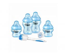 Sada kojeneckých lahviček s kartáčem na láhve C2N Tommee Tippee