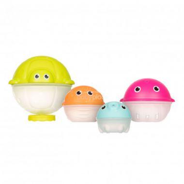 Sada kreativních hraček do vody s dešťovou sprchou Canpol