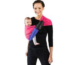 Šátek na nošení dětí bez uzlu Je Porte Mon Bebe Little Baby Wrap Without a Knot