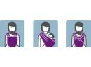 Šátek na nošení dětí Manduca Sling