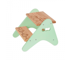 Schůdky dřevěné B-Toys