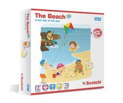 Pláž 3D Scotchi