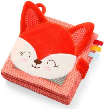 Senzorická textilní knížka BabyOno Fox Vincent