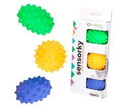 Senzorické balónky 3 ks Hencztoys