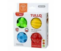 Senzorické balónky Tullo 4 ks