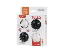 Senzorické balónky Tullo 4 ks Black-White