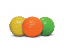 Senzorické míčky 3 ks velké Ludi