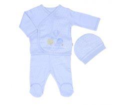 Set 3ks Dreams Summer Newborn Boy Blue