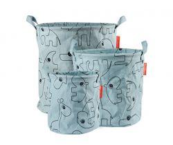 Set 3ks měkkých odkládacích košíků Done By Deer Contour