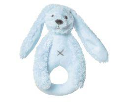Chrastítko Happy Horse Králíček Richie 18 cm Modré
