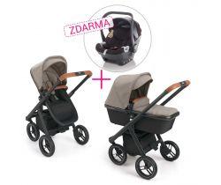 Set Kombinovaný kočárek Neonato Puro + autosedačka X1 ZDARMA