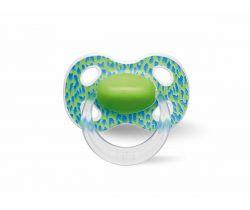 Šidítko anatomické silikonové Bibi Wild Baby Green