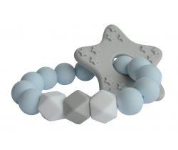 Silikonové kousátko My Teddy Newborn Star Diamant