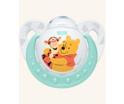 Silikonové šidítko Nuk Winnie The Pooh modrá