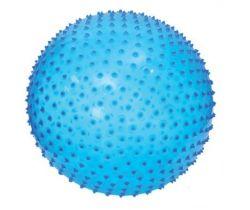 Skákací a masážní míč 45 cm modrý Ludi