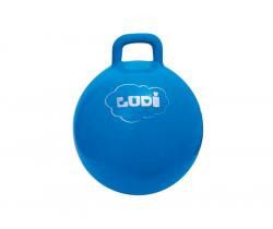 Skákací míč 45 cm modrý Ludi