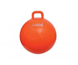 Skákací míč 55 cm oranžový Ludi