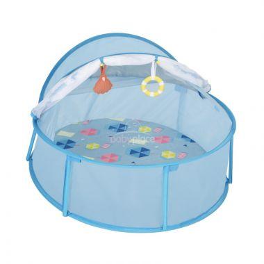 Skládací postýlka/hrací centrum Babymoov Little Babyni Parasols
