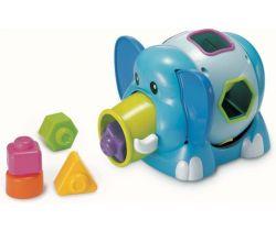Slon Jumbo s vkladacími tvary B-Kids